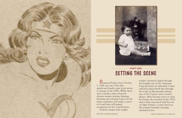 Ramona Fradon Ramona Fradon Wonder Woman Of Comics Bleeding Cool News And Rumors
