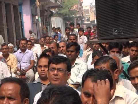 Ramvir Singh Bidhuri shri ramvir singh bidhuri jincp our leader meeting in Ekta Vihar