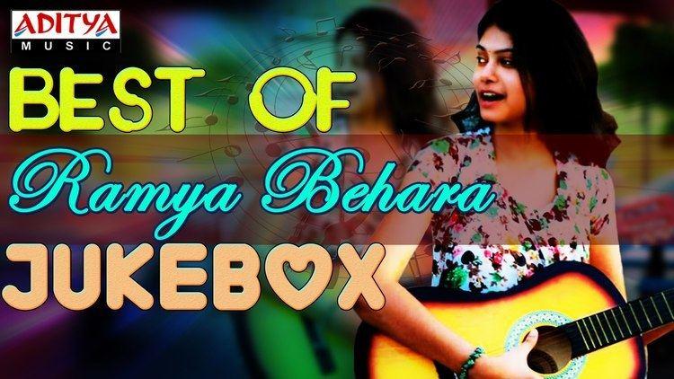 Ramya Behara Singer quotRamya Beharaquot Hit Songs Jukebox YouTube