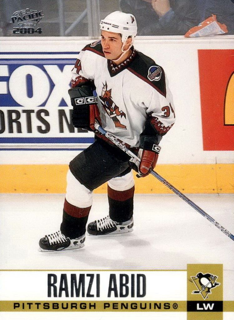 Ramzi Abid Collection of hockey cards Choose by series Pacific