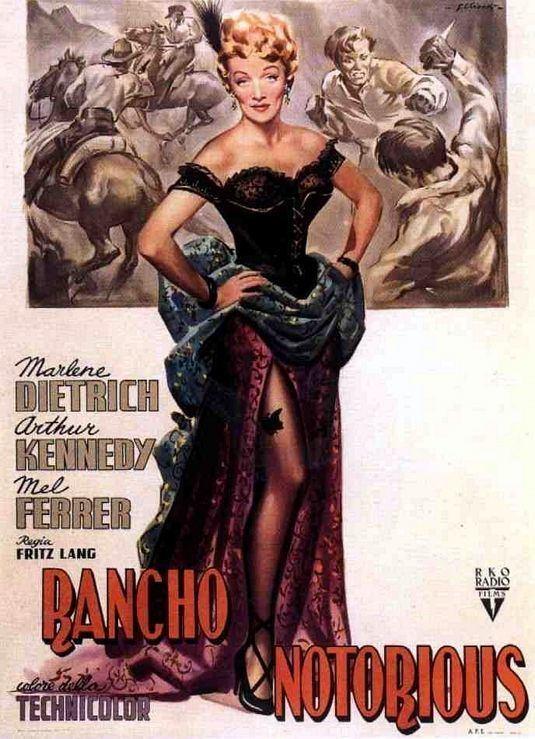 Rancho Notorious Rancho Notorious 1952 Fritz Lang Lasso The Movies