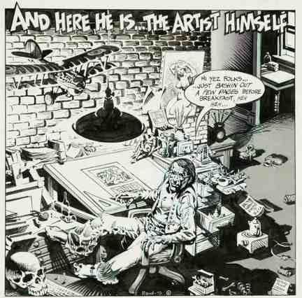 Rand Holmes Patrick Rosenkranz An eye for art an ear for secrets