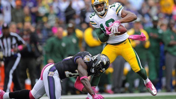 Randall Cobb (American football) Randall Cobb39s Leg Fracture Flips NFL Concussion