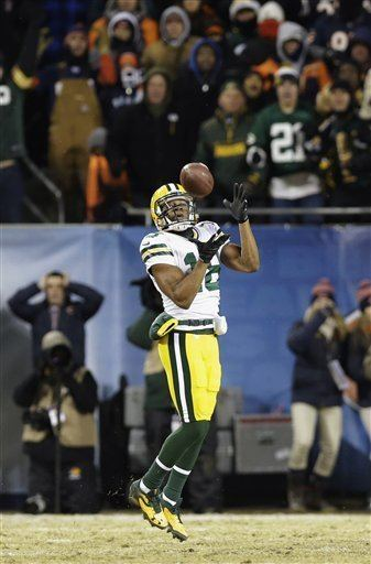 Randall Cobb (American football) Packers Just like old times as Aaron Rodgers Randall Cobb save the