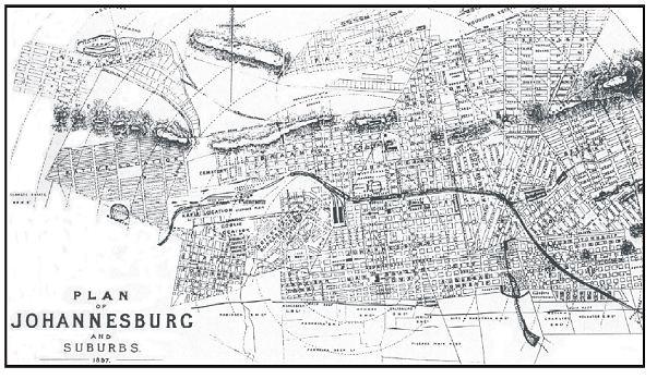 Randburg in the past, History of Randburg