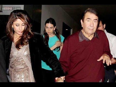 Randhir Kapoor Bollywood Actor Randhir Kapoor and his Family YouTube