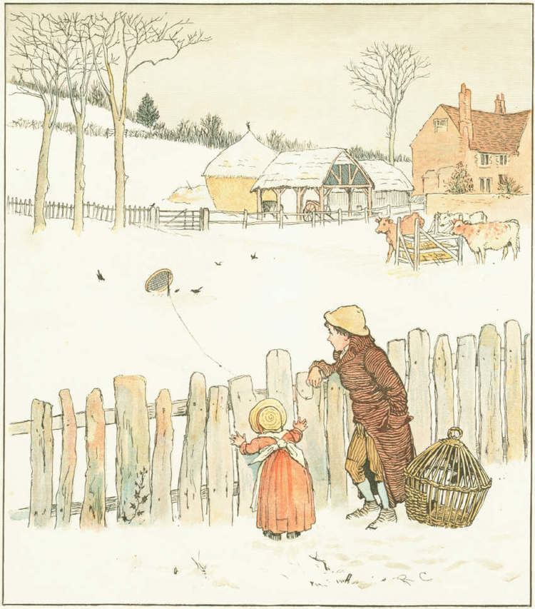 Randolph Caldecott Nursery Rhymes illustrated by Randolph Caldecott