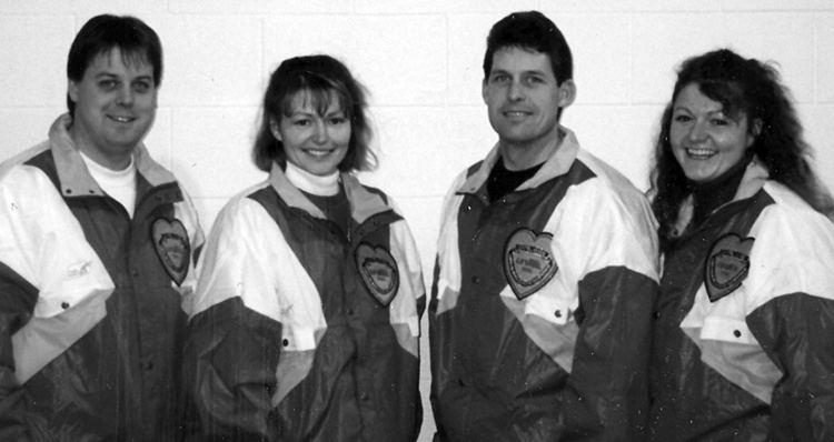 Randy Bryden 1996 Randy Bryden Curling Team Saskatchewan Sports Hall of Fame