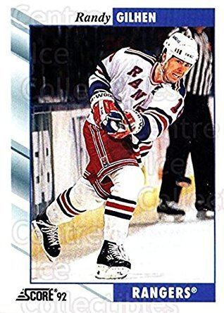 Randy Gilhen Amazoncom CI Randy Gilhen Hockey Card 199293 Score USA base