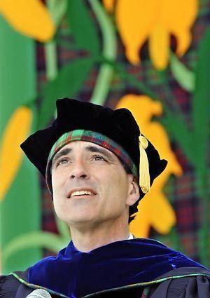 Randy Pausch Randy Pausch last lecture prof The Seattle Times