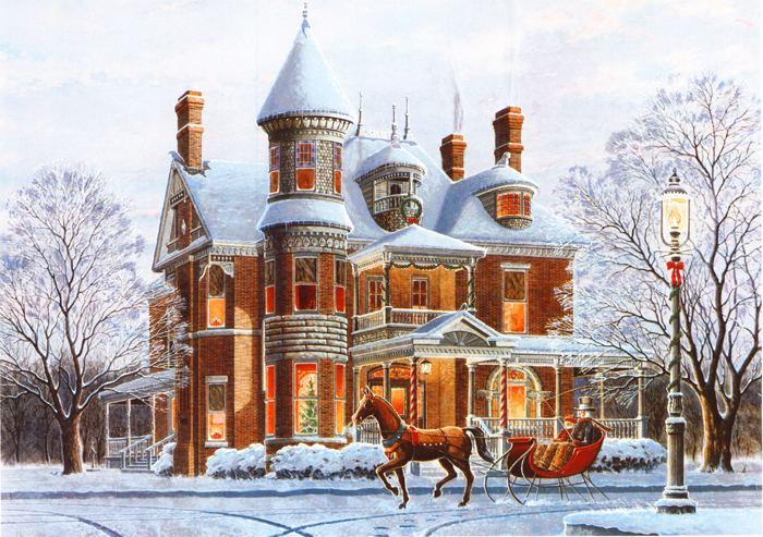 Randy Souders Christmas Snow by Randy Souders