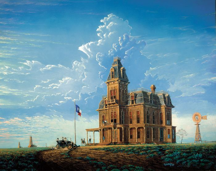 Randy Souders Official website of artist Randy Souders featuring Victorian homes