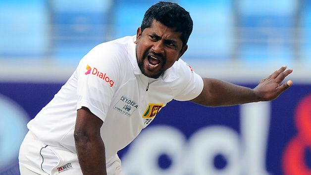 Rangana Herath becomes first leftarm bowler to pick 9for in a Test