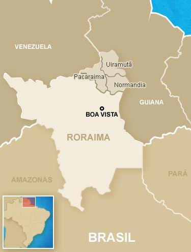 Raposa Serra do Sol G1 gt Brasil NOTCIAS Entenda o conflito na terra indgena Raposa