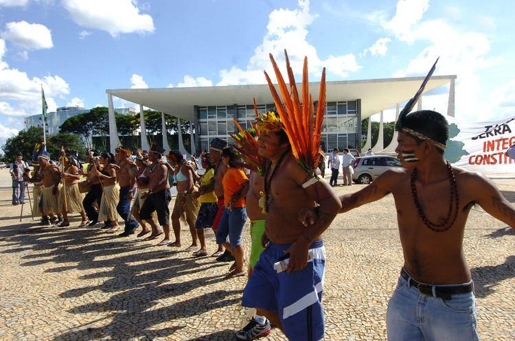 Raposa Serra do Sol FileRaposa Serra do SolSTF protestosJPG Wikimedia Commons