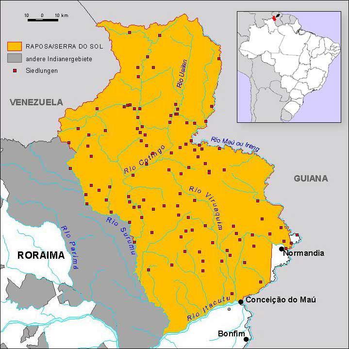 Raposa Serra do Sol Landrights for RaposaSerra do Sol Background