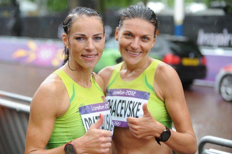 Rasa Drazdauskaitė Olimpiniame moter maratone RDrazdauskait ir DLobaevsk um 27