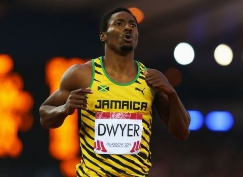 Rasheed Dwyer Jamaica Athletics Rasheed Dwyer breaks Don Quarrie39s Pan