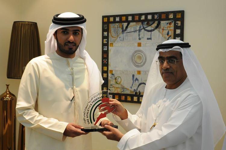 Rashid bin Humaid Al Nuaimi (Ajman) Sheikh Rashid Al Nuaimi to receives the UAE Athletics Federation
