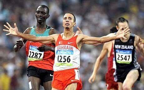 Rashid Ramzi Rashid Ramzi stripped of Beijing Olympic 1500m gold after