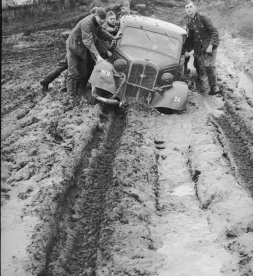 Rasputitsa 10th March 1943 Fresh Wehrmacht troops encounter the 39rasputitsa39