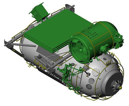 Rassvet (ISS module) MiniResearch Module 1 MIM1 Rassvet MRM1