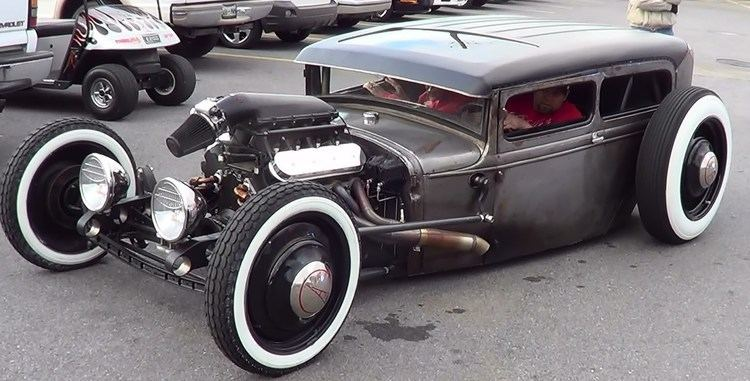 Rat rod Pick Ups and Rat Rods Pigeon Forge Rod Run 2013 YouTube