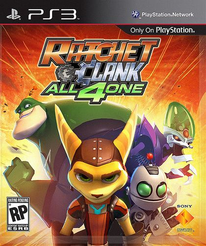 Ratchet & Clank: All 4 One Ratchet amp Clank All 4 One Behind the Box Art PlayStationBlog
