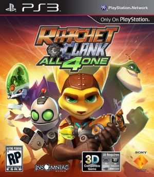Ratchet & Clank: All 4 One Ratchet amp Clank All 4 One Wikipedia