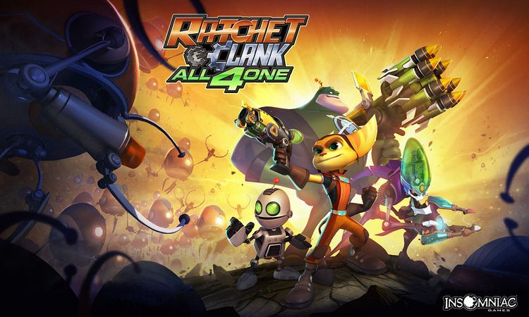 Ratchet & Clank: All 4 One Wallpapers from Ratchet amp Clank All 4 One Ratchet Galaxy The