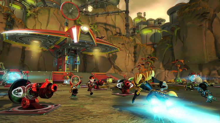 Ratchet & Clank: Full Frontal Assault Ratchet amp Clank Full Frontal Assault Insomniac Games