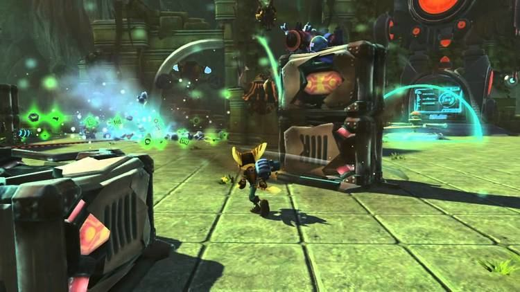 Ratchet & Clank: Full Frontal Assault Ratchet amp Clank Full Frontal Assault QForce GamesCom Gameplay