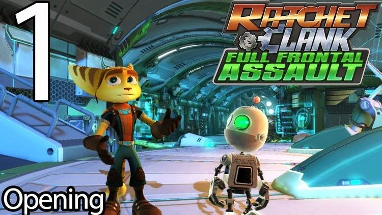 Ratchet & Clank: Full Frontal Assault Ratchet amp Clank Full Frontal Assault Part 1 Opening YouTube