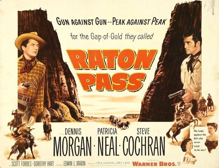 Raton Pass (film) 50s Westerns DVD News 156 Raton Pass 1951 50 Westerns From