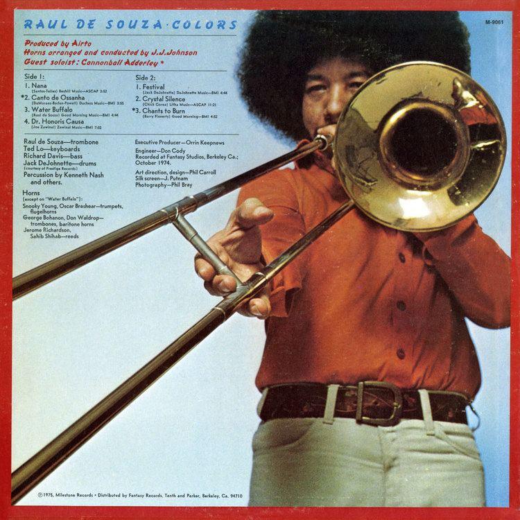 Raul de Souza Raul De Souza Colors Ace Records