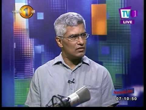 News 1st NewsLine with Ravi Ratnayeke Former Sri Lankan Cricketer