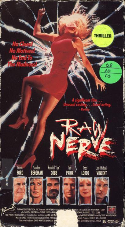 Raw Nerve (1991 film) wwwvhsislandcomwpcontentuploads201309rawn