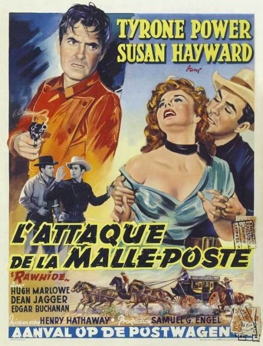 Rawhide (1951 film) Westerns 19501959 100 Years of Movie Posters 40 Westerns