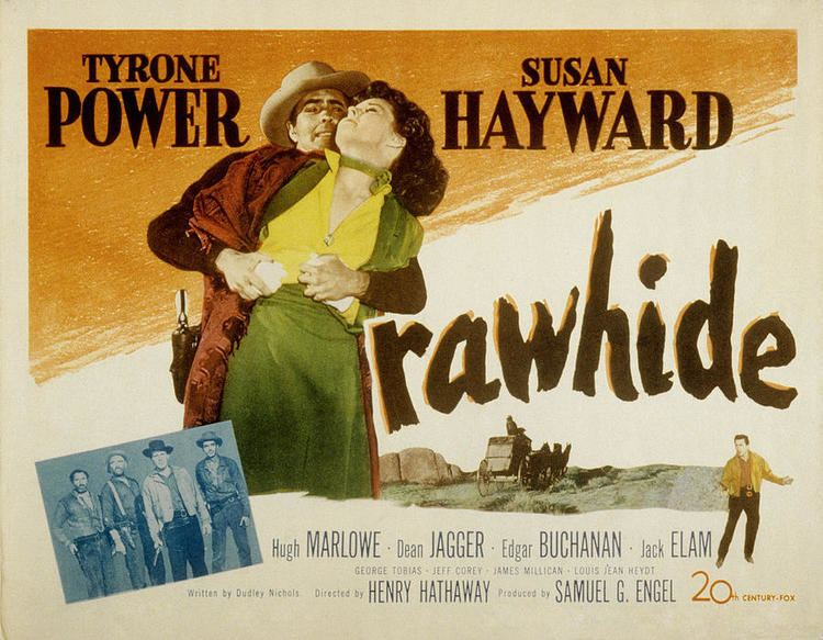 Rawhide (1951 film) Susan Hayward The Round Place In The Middle