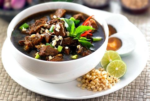 Rawon Rawon The Black Soup from East Java Indonesia visitingjava