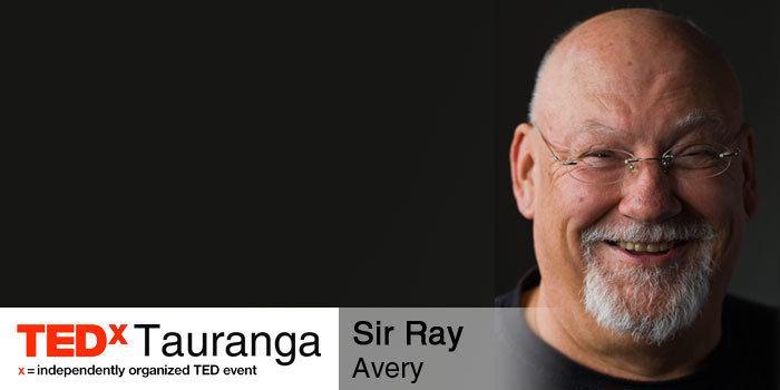 Ray Avery (scientist) TEDxTauranga Speakers 2015 TEDxTauranga