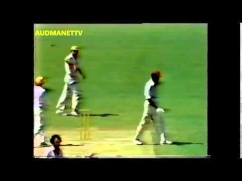 Albert Padmore caught Ian Chappel bowled Ray Bright World Series