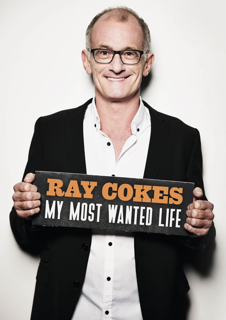 Ray Cokes MY MOST WANTED LIFE ENGLISH EDITION HANDSIGNED BY RAY