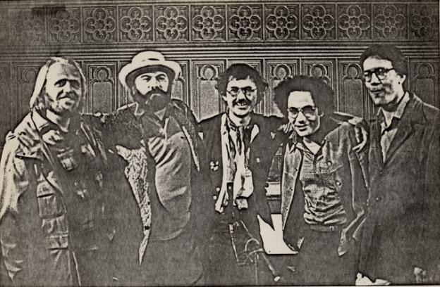 Ray DiPalma Bruce Andrews Charles Bernstein Ray DiPalma Ron Silliman 1981