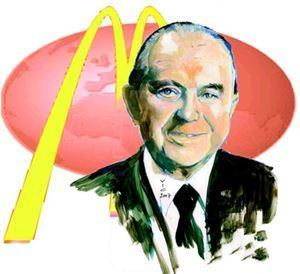 Ray Kroc Ray Kroc fully Raymond Albert Kroc Great Thoughts Treasury