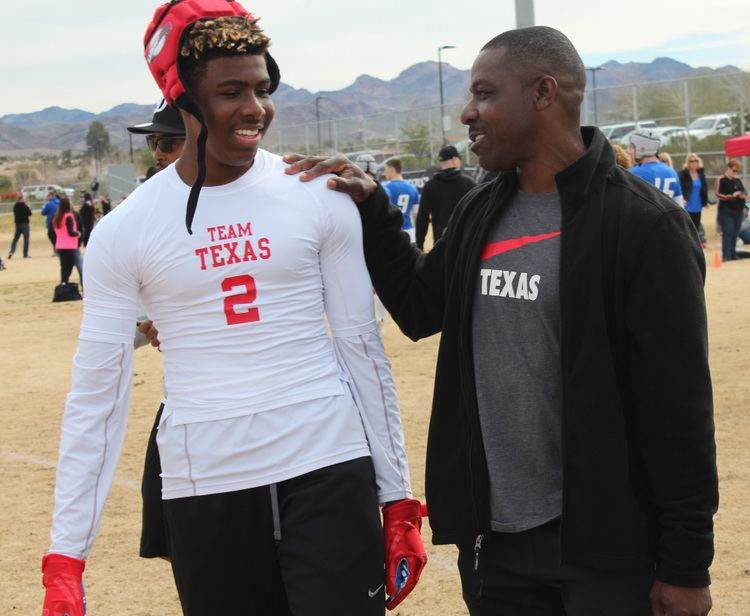 Ray Mickens Ray Mickens hopes son RJ succeeds on field and more My No 1