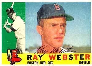 Ray Webster (second baseman) wwwbaseballalmanaccomplayerspicsraywebster