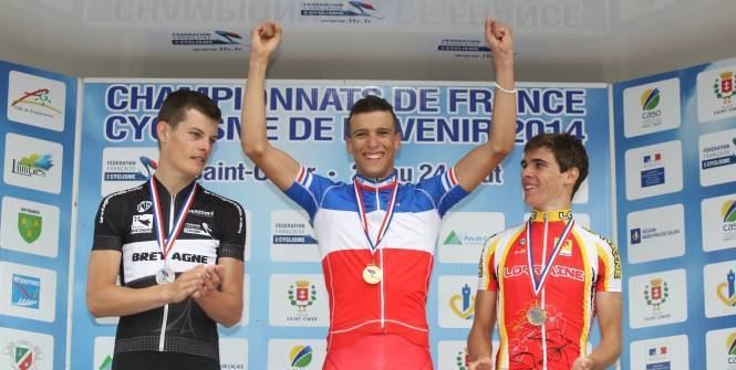 Rayane Bouhanni Cyclisme Rayane Bouhanni champion de France junior