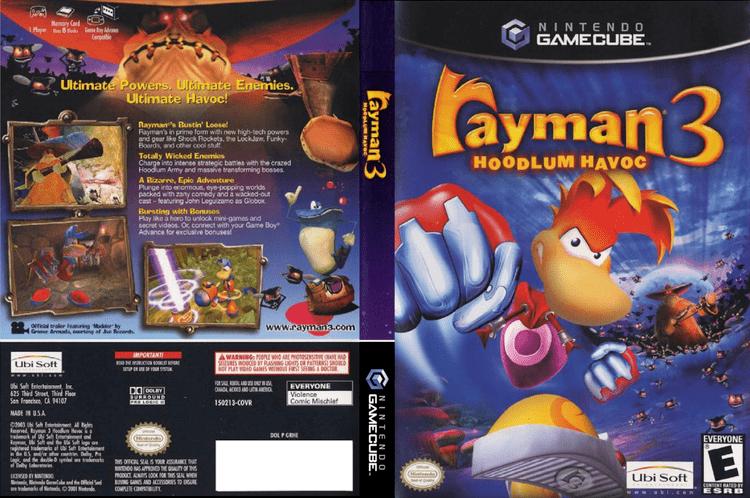 Rayman 3: Hoodlum Havoc GRHE41 Rayman 3 Hoodlum Havoc