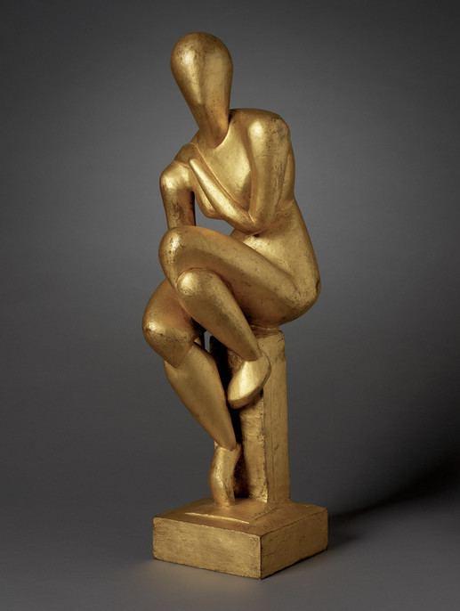Raymond Duchamp-Villon Seated Woman Objects RISD MUSEUM